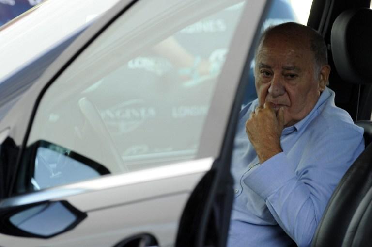 El fundador y primer accionista de Inditex. Amancio Ortega. AFP/ Miguel Riopa