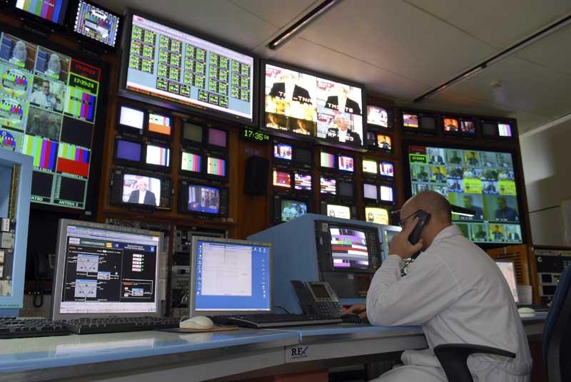 Centro de control de Torrespaña