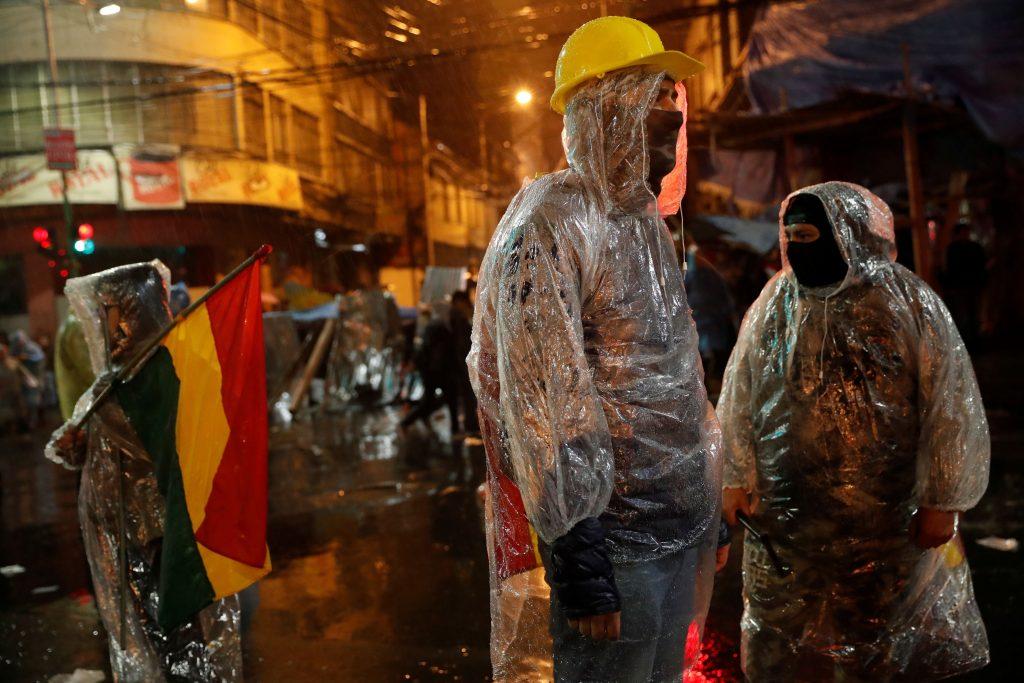 Manifestantes en apoyo al expresidente boliviano Evo Morales. / Reuters
