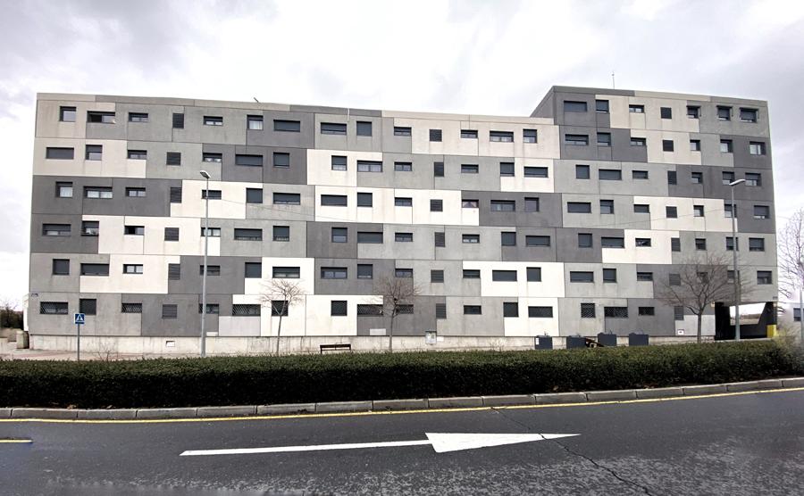 Edificio de viviendas en Madrid. E.P.
