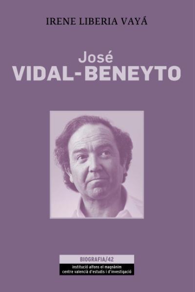 Portada del libro 'José Vidal-Beneyto. Sociología crítica y resistencia democrática: una vida a contraviento', de Irene Liberia Vayá.