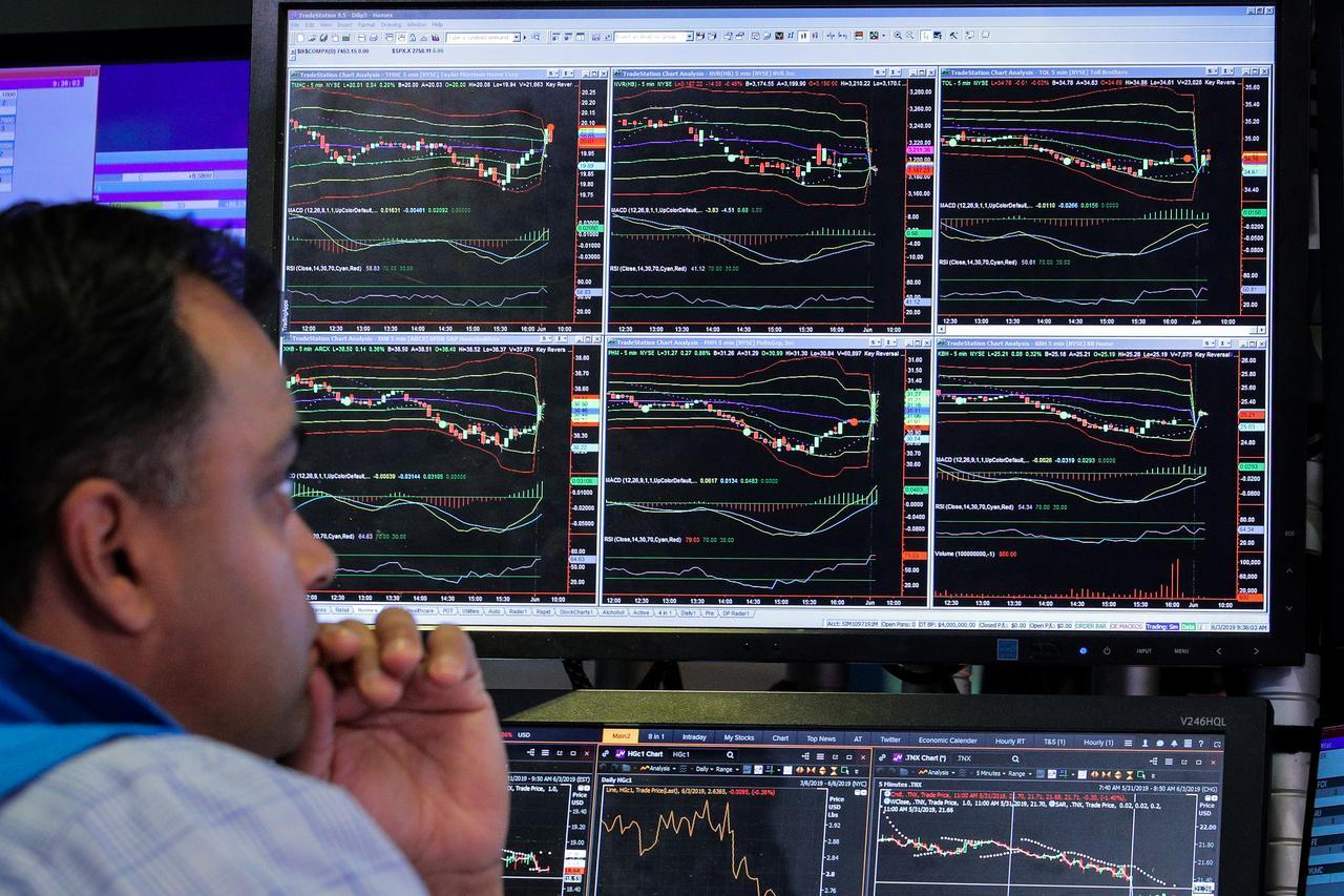 Operador de la Bolsa de Nueva York, en Wall Street. REUTERS