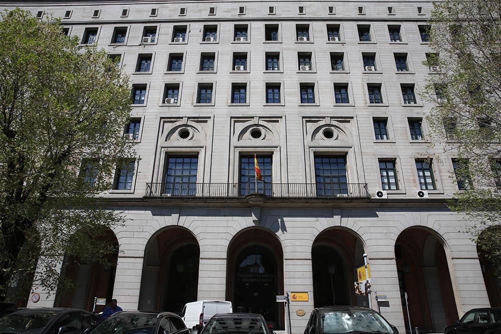 Edificio del Ministerio de Trabajo, en los Nuevos Ministerios de Madrid.