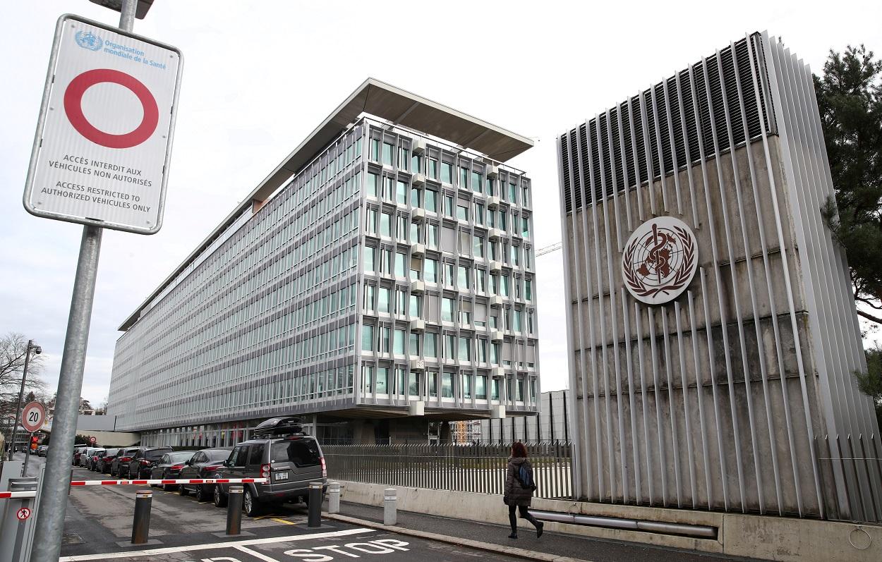 Sede de la Organización Mundial de la Salud (OMS, o WHO en sus siglas en inglés), en Ginebra (Suiza). REUTERS/Denis Balibouse