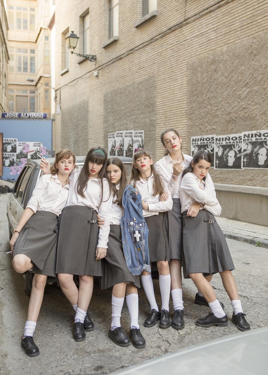 Las niñas protagonistas de la película (Jorge Fuembuena. BTeam Pictures).