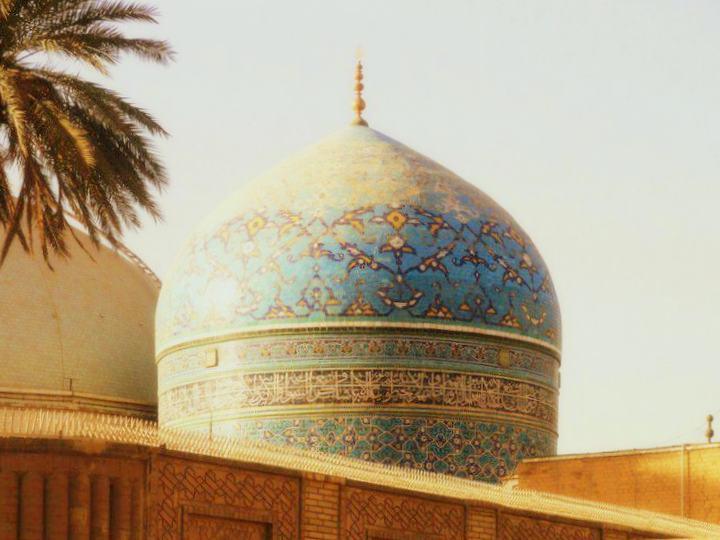 Vista de la tumba de maestro sufí Abd al-Qader al-Yilani, en Bagdad. WIKIPEDIA