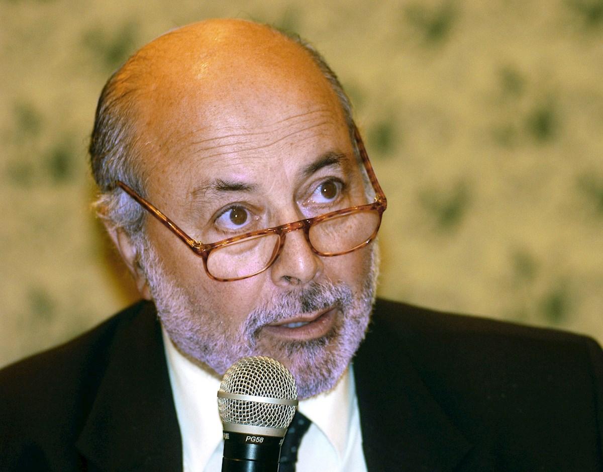 Fotografía de archivo fechada el 14 de febrero de 2005 del juez chileno Juan Guzmán Tapia. EFE/ Mario Lopez ARCHIVO