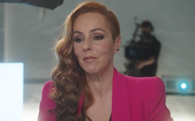 Rocío Carrasco en un momento del programa de Telecinco.- MEDIASET