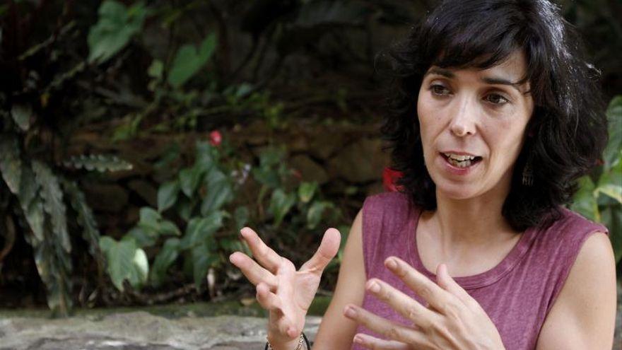 La escritora Edurne Portela en una imagen de archivo.- EFE