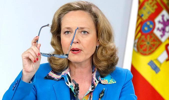 La ministra de Economía y vicepresidenta del Gobierno, Nadia Calviño.- EFE