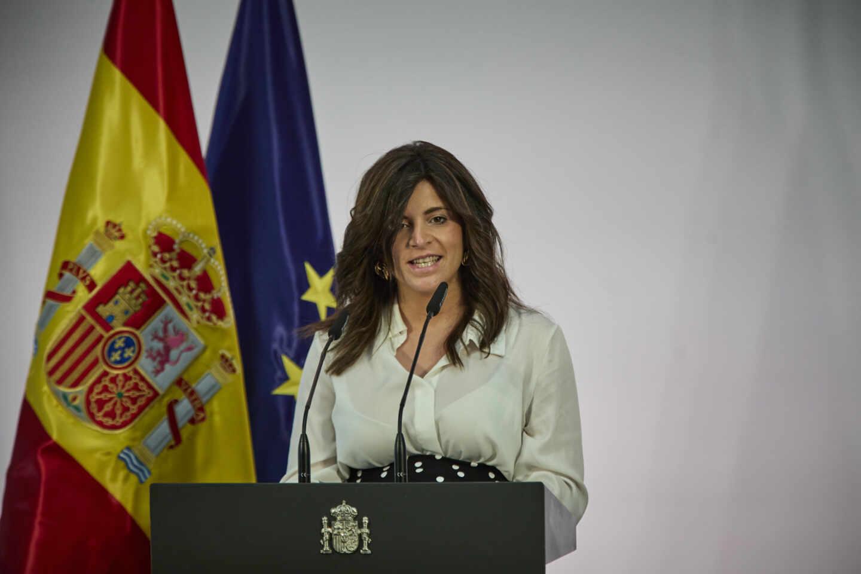 La escritora Ana Iris Simón, en Moncloa. EP