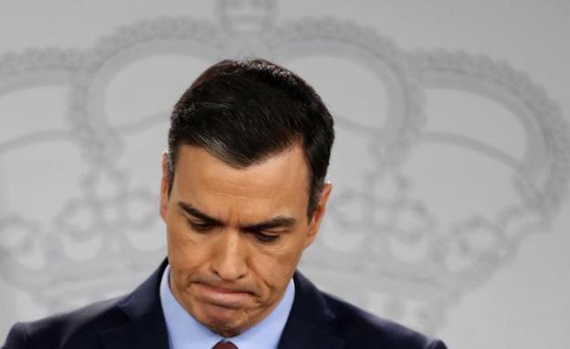 Pedro Sánchez, presidente del Gobierno. EFE