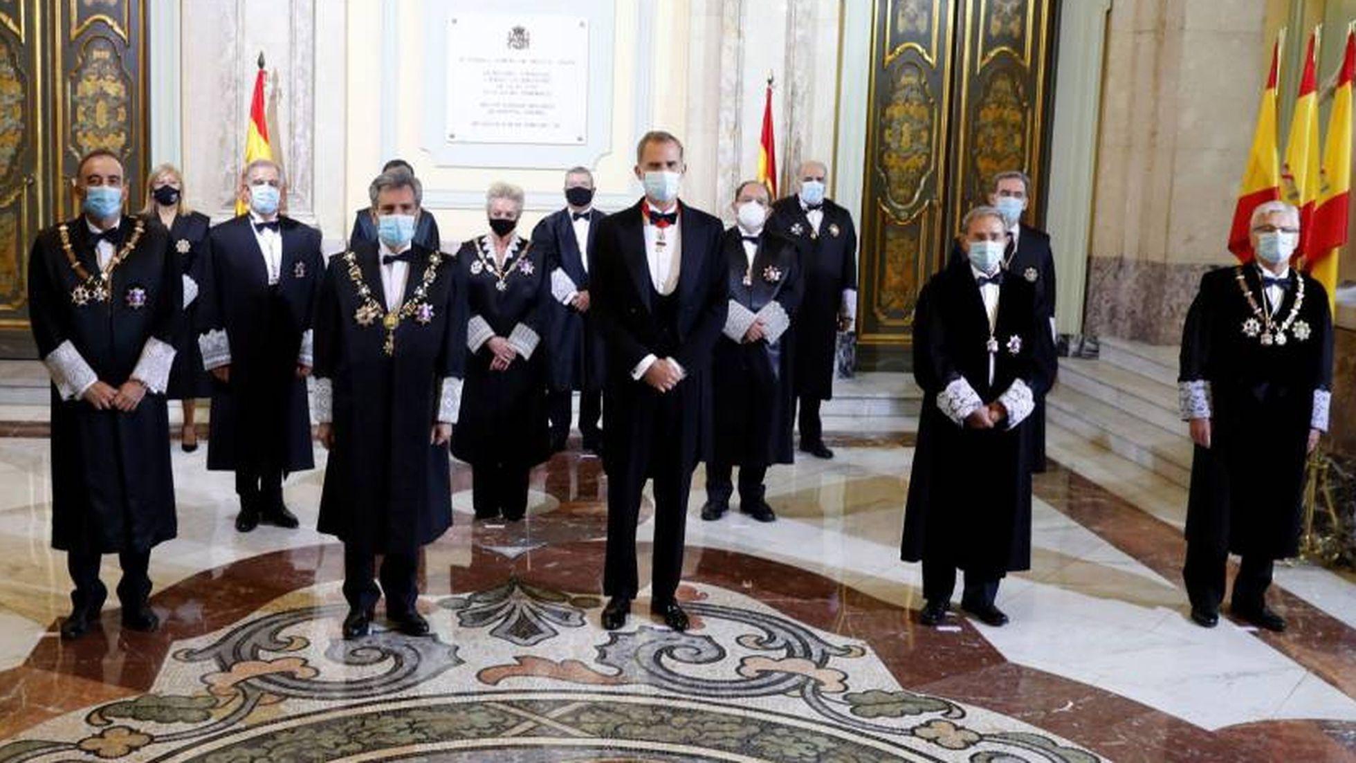 Apertura Año Judicial 2020 - EFE, J.J.Guillén