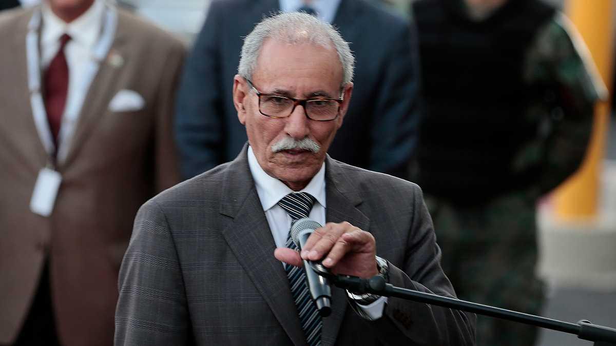 Brahim Ghali, líder del Frente Polisario. EFE