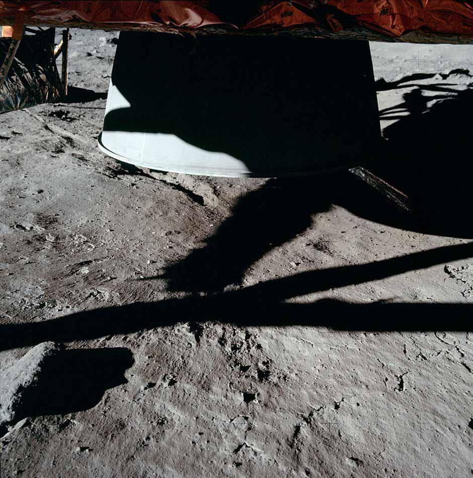 Pese a quemar combustible como cualquier cohete, los motores lunares no expulsaban llamas