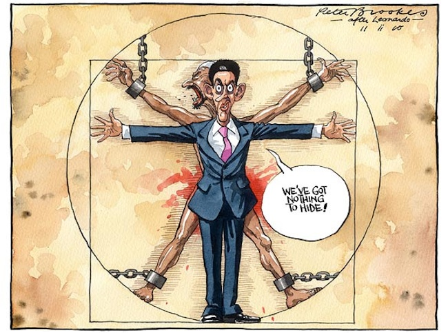 The Times. Peter Brookes