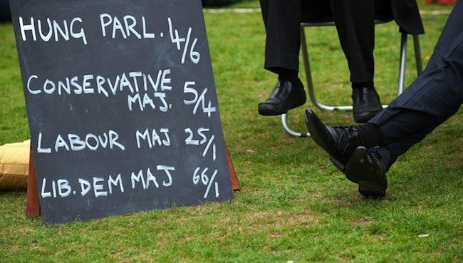 Imagen tomada en Londres por Leon Neal/AFP PHOTO/