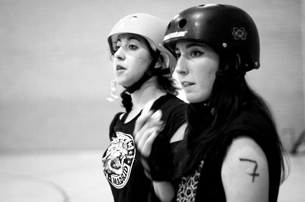 El equipo de Roller Derby Madrid juega el próximo 9 de mayo en Brest contra el BMO Roller Girls en uno de sus partidos amistosos. En sus viajes suelen hospedarse en las casas de sus rivales.- CHRISTIAN GONZÁLEZ