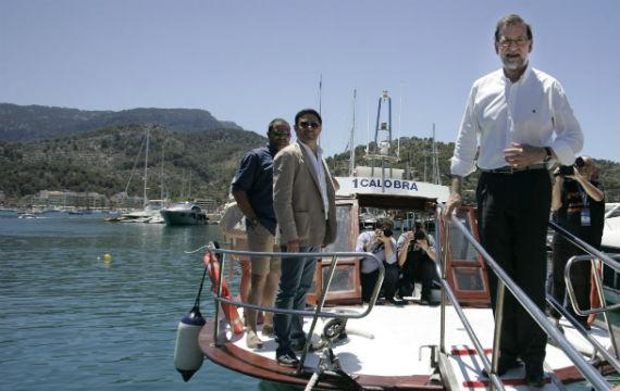 rajoy en barco