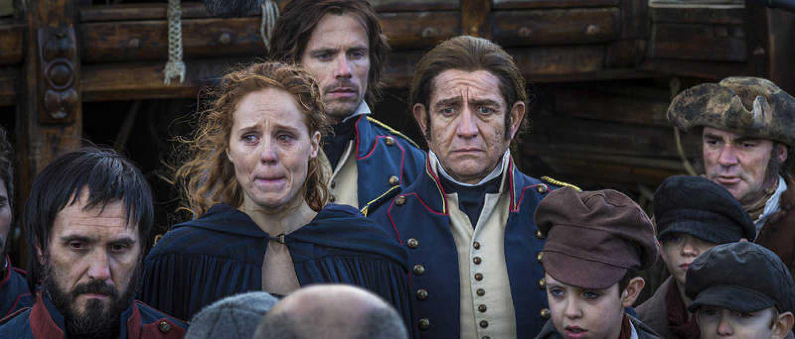 Coronavirus y viruela. Los personajes de Isabel Zendal, José Salvany, Francisco Javier Balmis, en el telefilme '22 ángeles'.