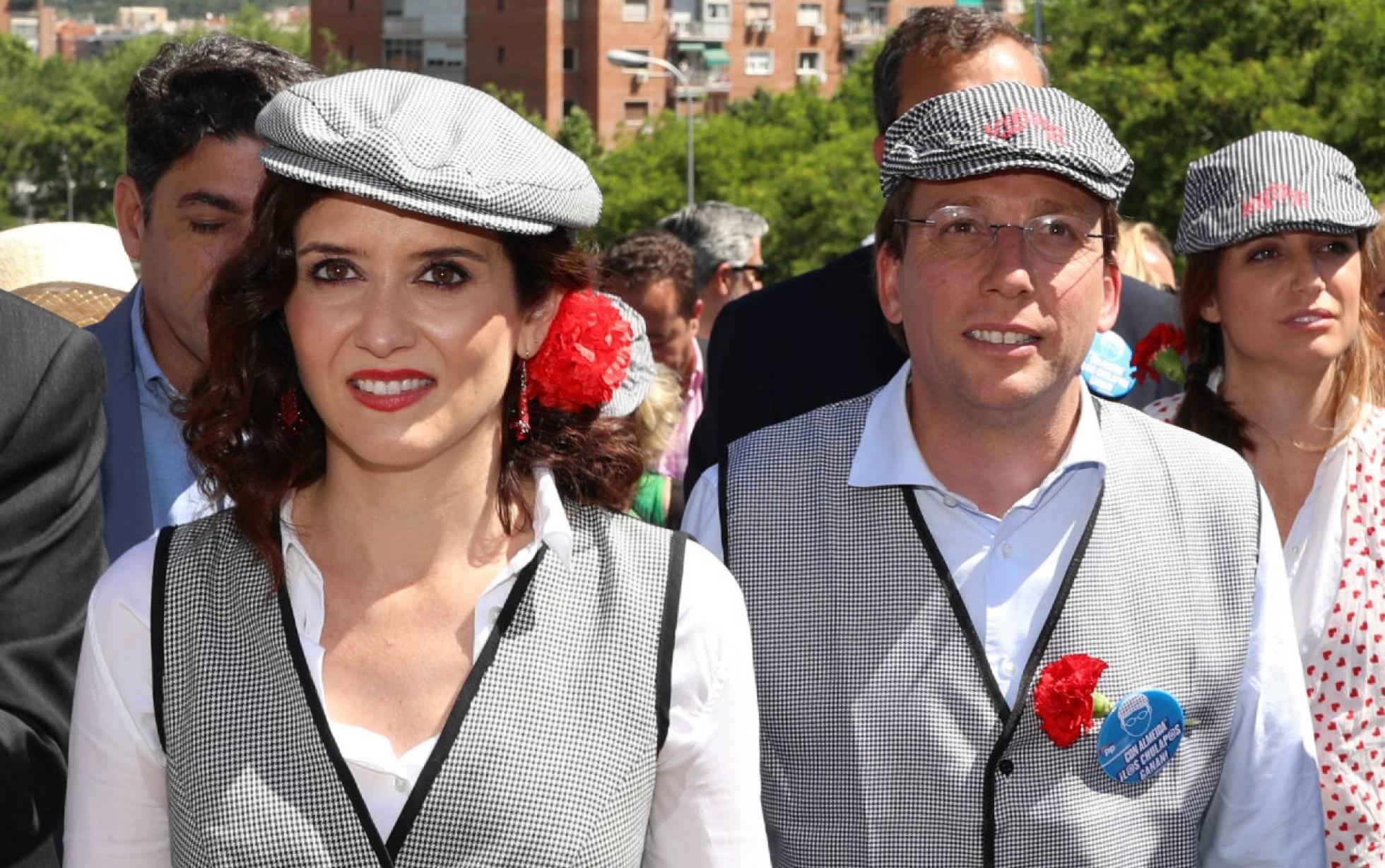 Isabel Díaz Ayuso y José Luis Martínez-Almeida. / Jesús Hellín (EP)