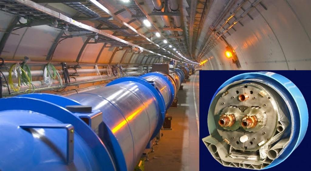 LHC-Con el dipolo