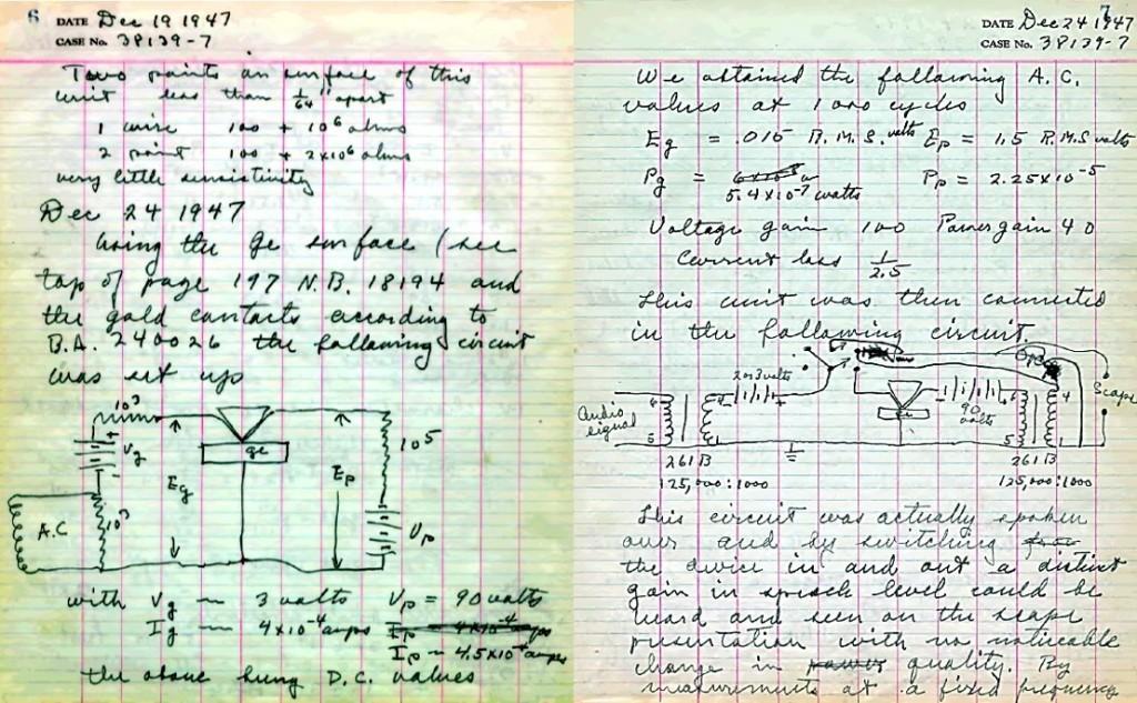 Cuaderno Brattain