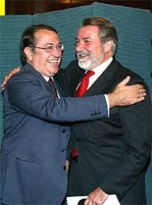 Nicolás Redondo y Mayor Oreja