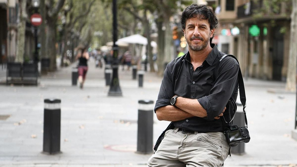 El fotógrafo español Emilio Morenatti. E.P.