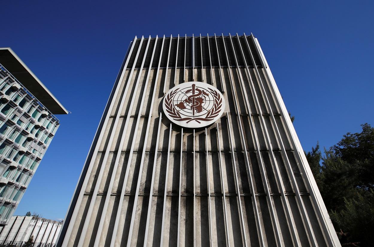 Edificio de la sede de la Organización Mundial de la Salud (OMS, o WHO en sus siglas en inglés), en Ginebra (Suiza). REUTERS/Denis Balibouse
