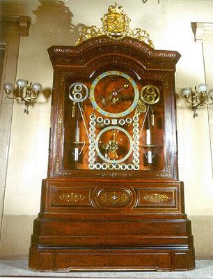 Segundo reloj astronómico, inicialmente para el Senado.