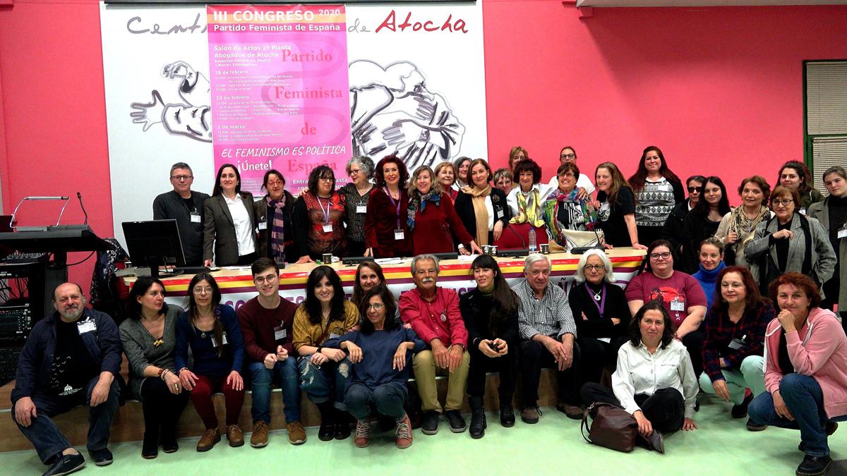 Congreso del Partido Feminista de España.