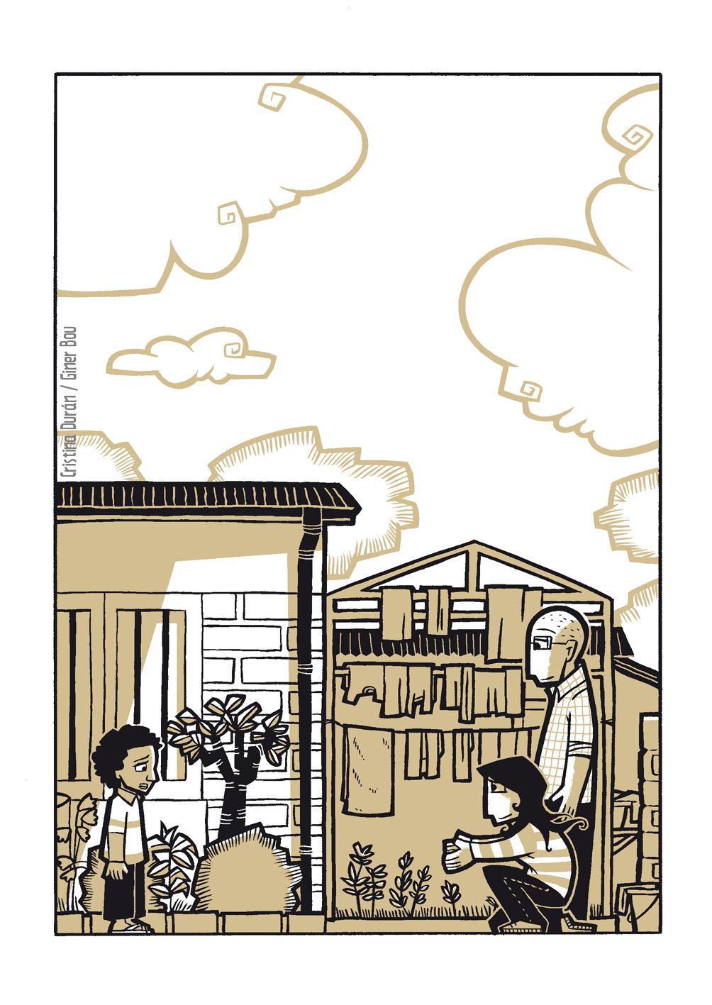 Imagen del cómic 'Una Posibilidad entre mil'