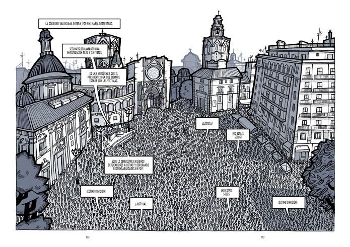 Imágenes del comic 'El Día 3'