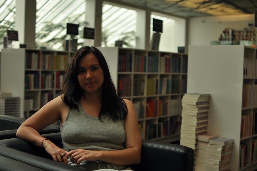 La escritora y politóloga Arantxa Tirado.
