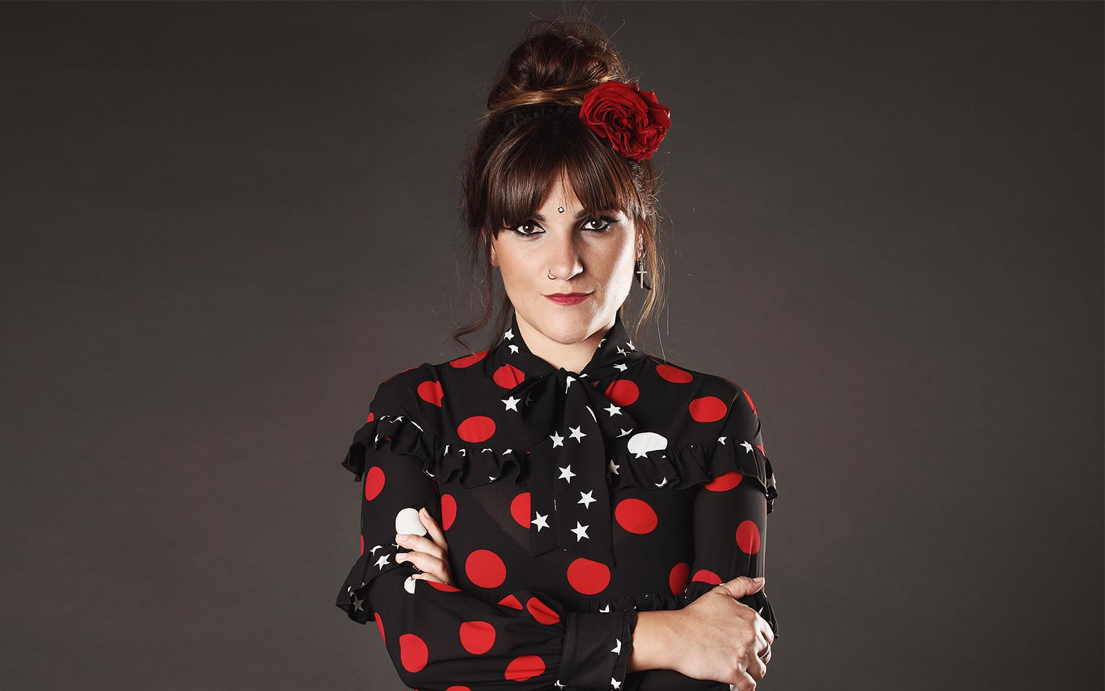 La cantante Rozalén