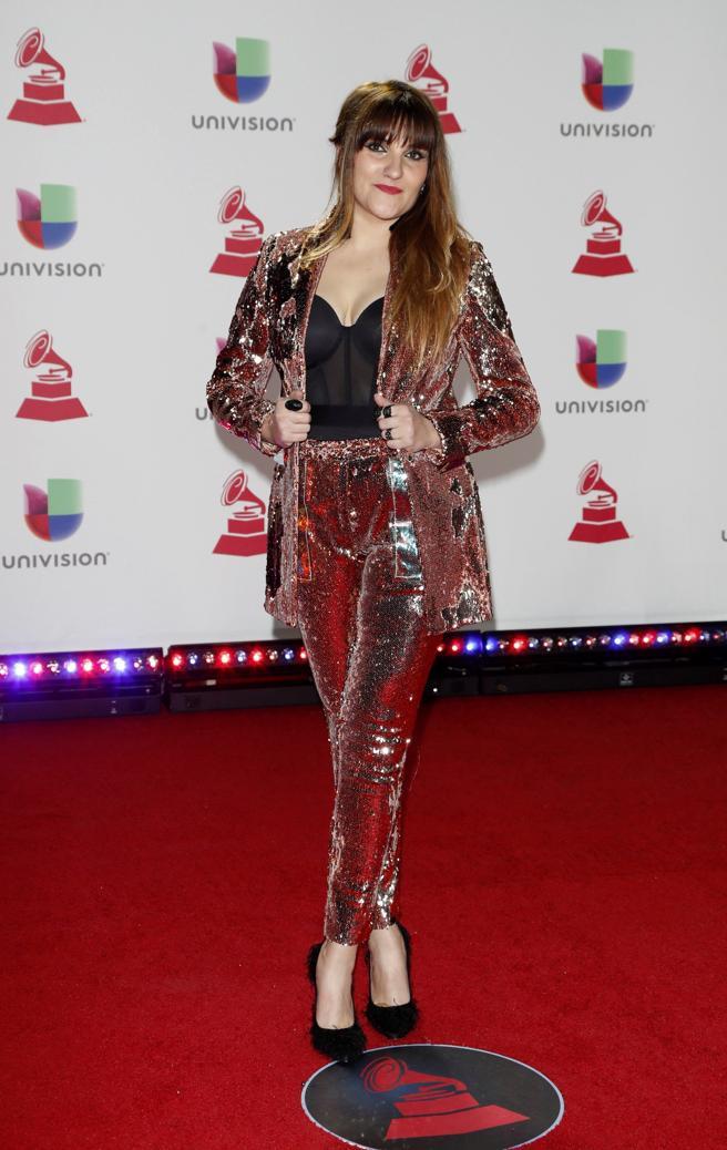 Rozalen en los Grammy Latinos 2018. EFE / NINA PROMMER
