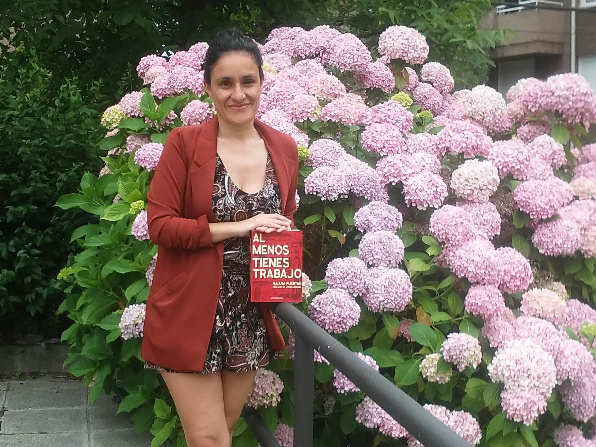 La periodista Naiara Puertas