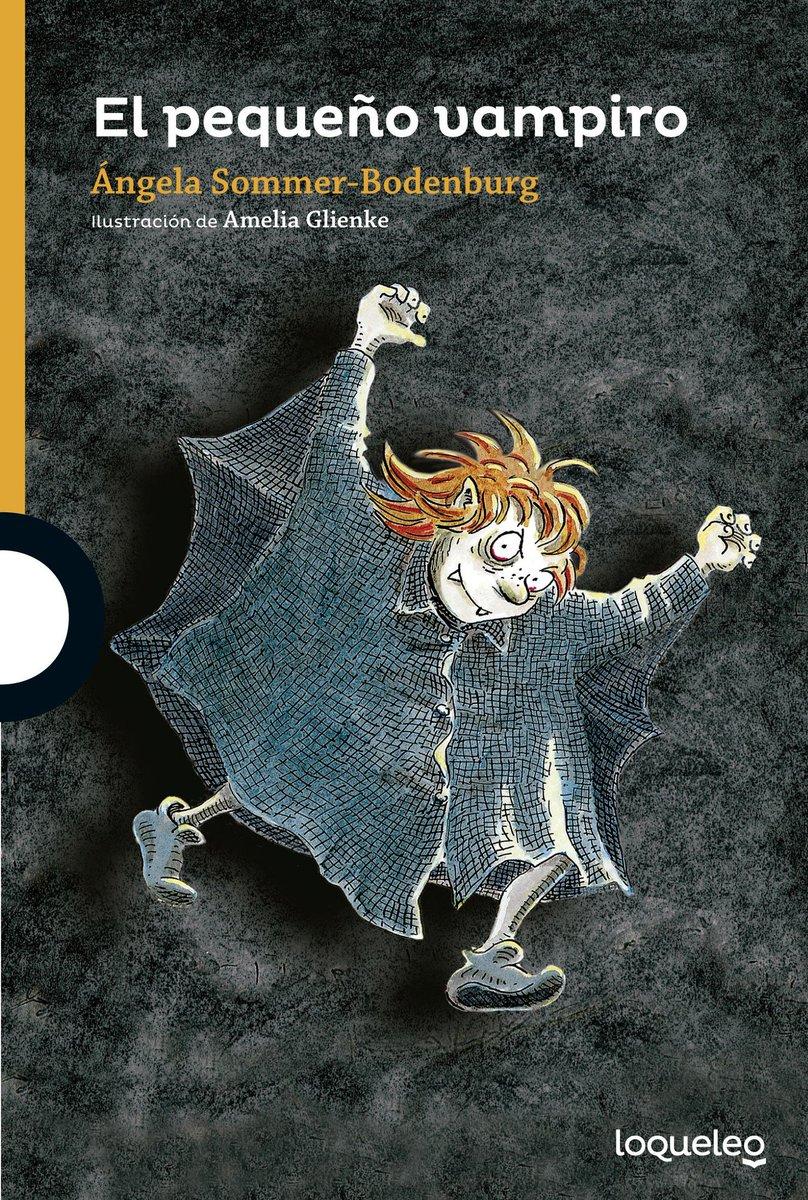 Portada de 'El pequeño vampiro', el primer libro de la saga