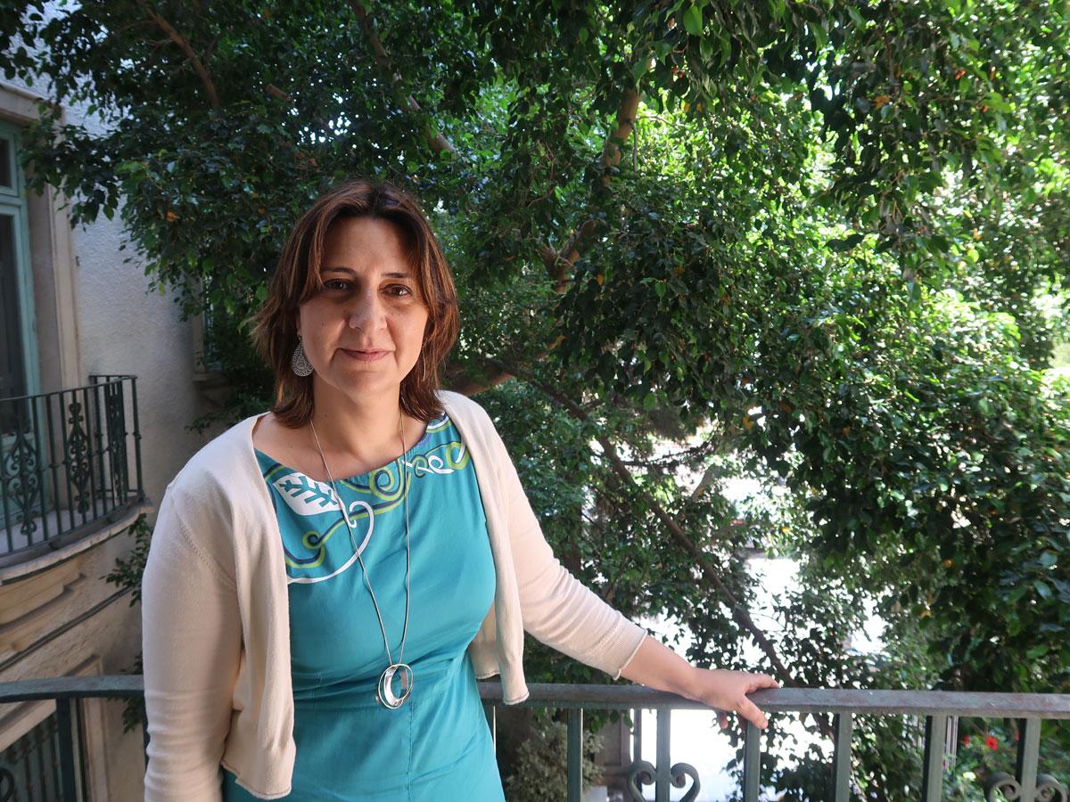 Rosa Pérez Garijo, Coordinadora General de Esquerra Unida del País Valencià y Consellera de Participación, Transparencia, Cooperación y Calidad Democrática de la Generalitat Valenciana.