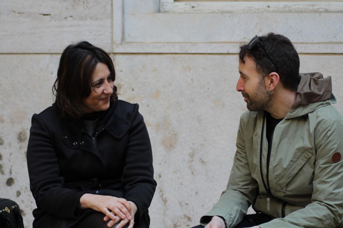 Rosa Pérez Garijo con Toni Mejías.
