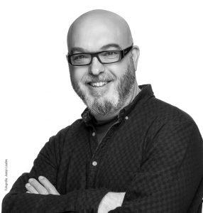 "Miguel Ángel Giner Bou, guionista de ""Ofensiva Final"". Juanjo Laudes"
