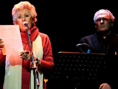 Pilar Bardem y Carlos Olalla./ Carlos Picasso