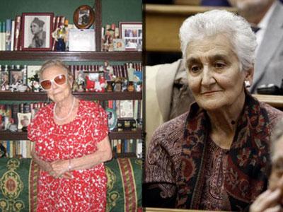 Carmen Arrojo e Hilda Farfante