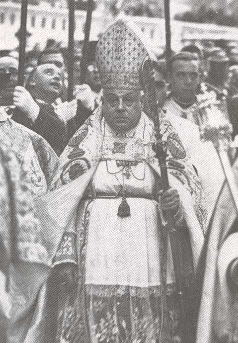 Josep Miralles, obispo de Mallorca.