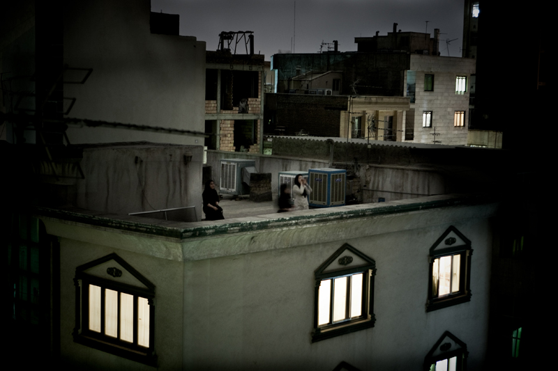 World Press Photo of the Year 2009 - Pietro Masturzo, Italy - From the rooftops of Tehran, June