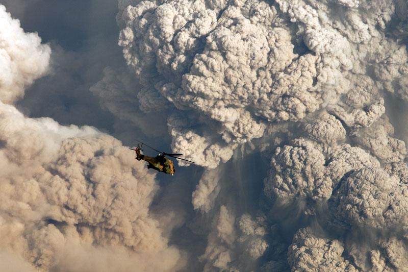 El volcán Puyehue (fotos increibles)