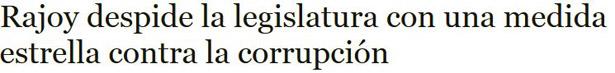 titulo Rajoy