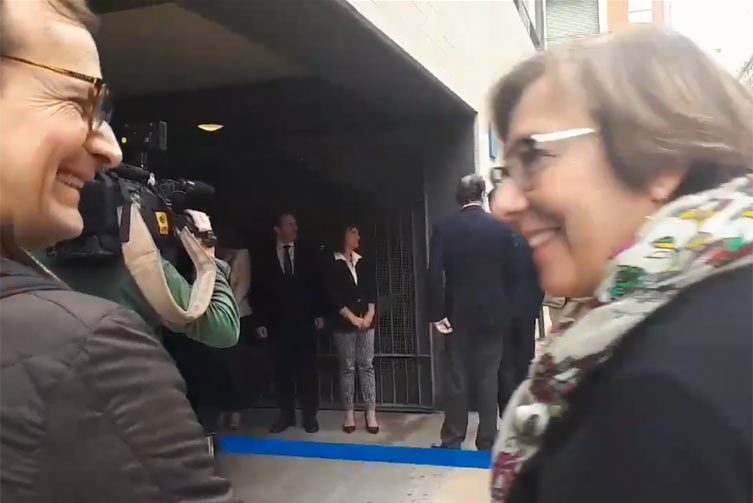 La secretaria de Estado de Comunicación, Carmen Martínez Castro