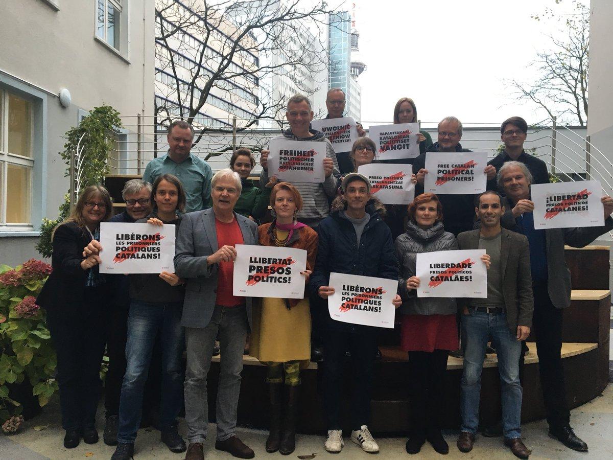 La dirección de Die Linke en Alemania se ha declarado por la liberación de los presos y presas